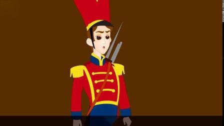 【原版英语童话】💂与众不同的铁兵玩具💂The Special Tin Soldier