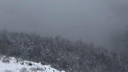 汉中第一场雪!#搞笑视频共享