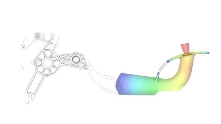 Moldex3D R17 - 流体辅助射出成型分析支援回冲模拟