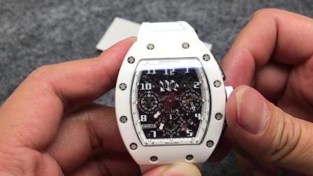 KV 理查德 RM-011 全陶瓷表壳 7750计时机芯