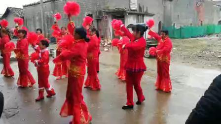 石鼓舞队广场舞《祝寿歌》