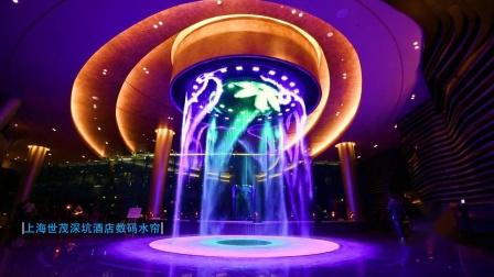 上海深坑酒店数码水帘-法国国际水秀