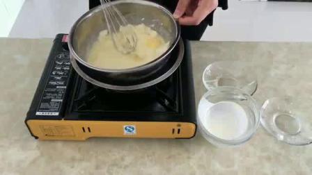 怎样烘焙饼干 烤箱自制蛋糕 新手抹蛋糕胚视频教程
