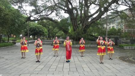 正舞健身队广场舞再唱刘三姐