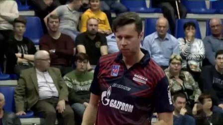 2019-2019欧洲乒联男子冠军联赛 半决赛 第2轮 第2场 第3盘 萨姆索诺夫vs杰拉尔多 乒乓球比赛视频 完整