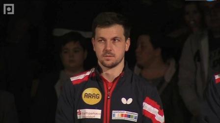 2019-2019欧洲乒联男子冠军联赛 半决赛 第2轮 第1场 第1盘 卡尔松Mvs格罗斯 乒乓球比赛视频 完整