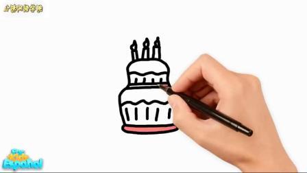 做生日蛋糕您要发布帖子的论坛是小的我为小孩儿画了些什么你们