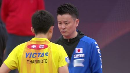梁靖崑vs张本智和 2019-03-29 卡塔尔乒乓球公开赛