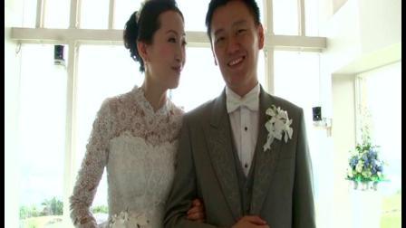 冲绳婚礼|艾葵露雀教堂婚礼|爱薇时海外婚礼