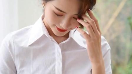 职业白衬衫_厂家餐厅写字楼工作服棉衬衣女2019年夏季职业短袖 - 阿里巴巴
