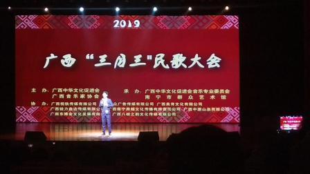 杨祖阳演唱《槐花故事》,广西三月三民歌大会