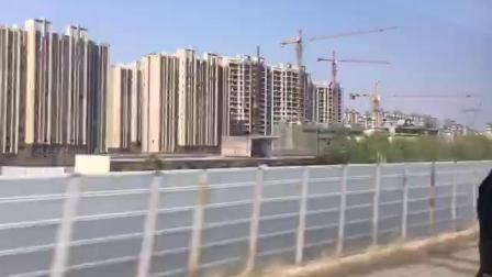 徐兰高速线 G1884次运行于郑州西-郑州东区间