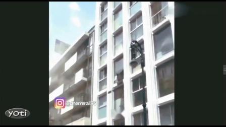 墨西哥地震 建筑摇晃 合集