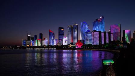 青岛城市夜景