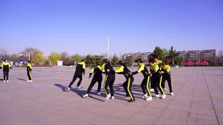 青州宋城牌坊曳步舞团游戏老鹰抓小鸡与丢沙包