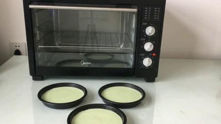烤箱做蛋糕的视频 学蛋糕烘焙 蛋糕做法视频