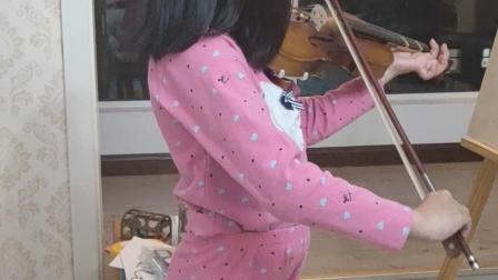 小提琴《在小山旁》