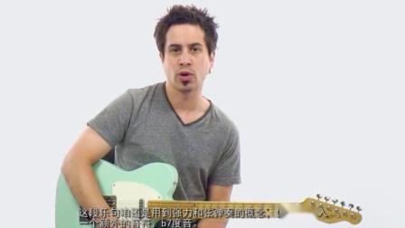 布鲁斯旋律3 分享大师吉他教学