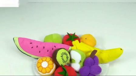 学习彩虹动力沙冰激凌的色彩如何与水果一起制作儿童护理手册