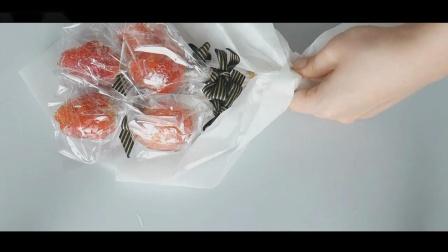 草莓花束包装图解草莓花束怎么做2