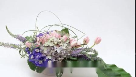 花卉欣赏:挿花艺术(图片合成)