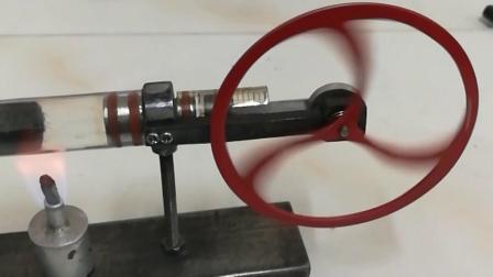 手工制作热回声斯特林发动机模型
