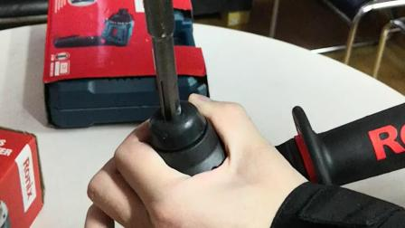 电锤系列钻头安装