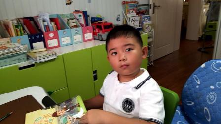 【7岁】9-3哈哈放学回家跟做学校作业video_152633.mp4
