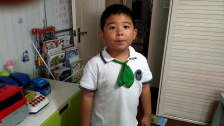 【7岁】9-17哈哈放学跟奶奶一起背英文课文video_164023.mp4