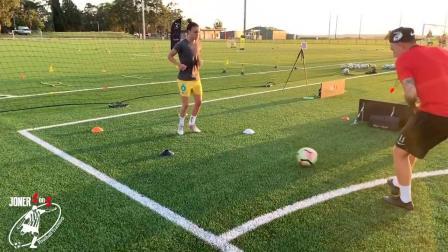 joner 1on1 如何纠正球员接球前不抬头观察  女足高水平训练