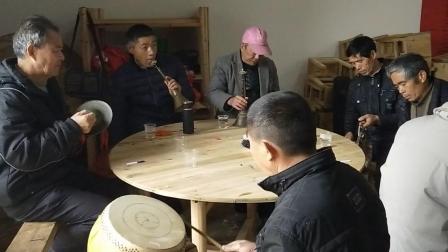 江西省樟树市临江镇民间唢呐锣鼓合奏3