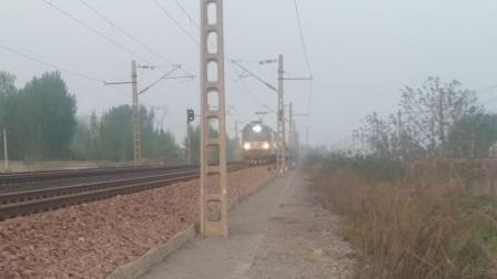 (直排鸣笛注意) K589次 北京西-重庆 HXD3C 25G