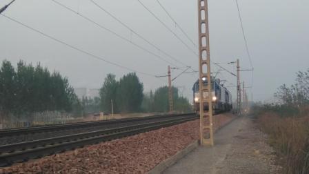 火车 HXD2C双机通过