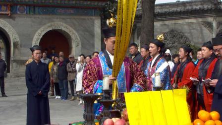北京白云观己亥年清明节超度大法会一(摄召上)