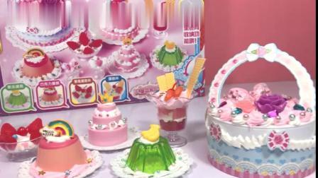 小猪佩奇蛋糕师闪亮登场!一起做戒指甜品和马卡龙蛋糕