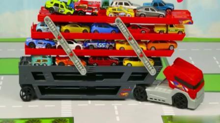 儿童汽车玩具 认识工程车 推土机 挖掘机 铲车 卡车19