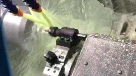 车铣复合加工视频-精弗斯-齿轮镶