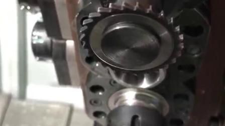 车铣复合加工视频-精弗斯-铣2mm小槽