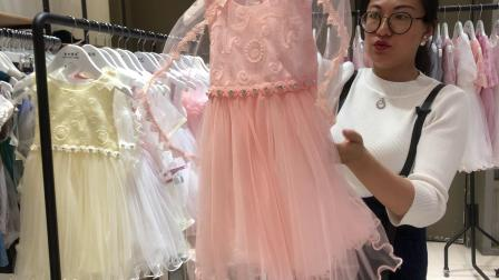上海外贸服装【YY童衣坊】童装批发女童公主裙网纱裙