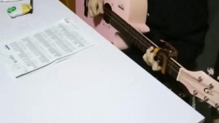 【济宁金金吉他艺术学校】李子奇同学练琴片段 2019.3.5