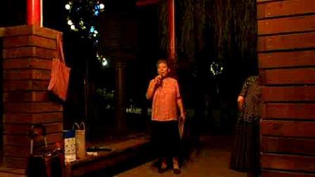 戏歌 你家在哪里  南湖晚上录像