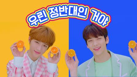 TXT 'Blue Orangeade' Lyric Video
