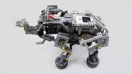 清远宇舵智能机器人编程教育培训学习课程能力风暴杂锦作品