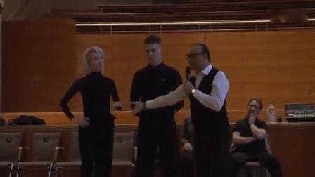 我在2018 THE CAMP[中英字幕]法比奥《空间》摩登舞讲习(迪马奥尔嘉演示)Fabio Selmi STD LEC截了一段小视频