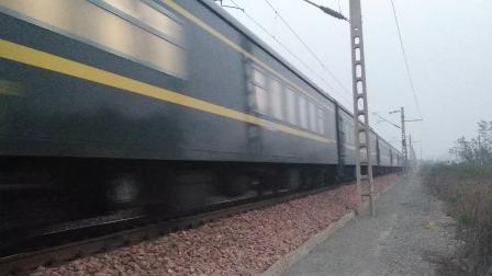 [原色] 客车K589次 北京西-重庆 HXD3C 25G