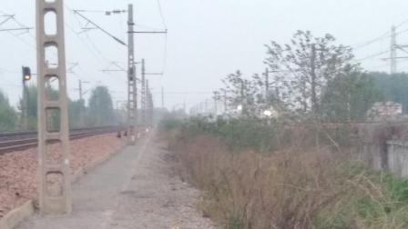 郑焦城际 C2912 前方线路由于G1810晚点占用 车速不快