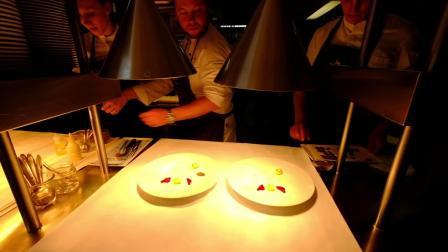 3 Michelin star Lamb main course preparation at Atelier in Munich