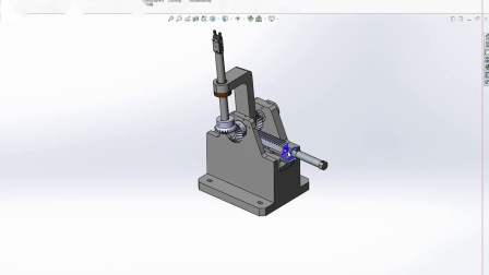 solidworks 抓取机械手设计思路