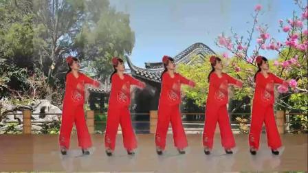 山西素梅广场舞《过年了》