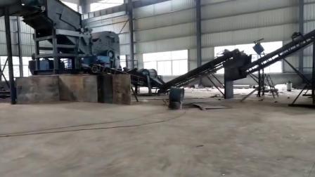 废钢撕碎机源通金属破碎机生产线处理废旧金属